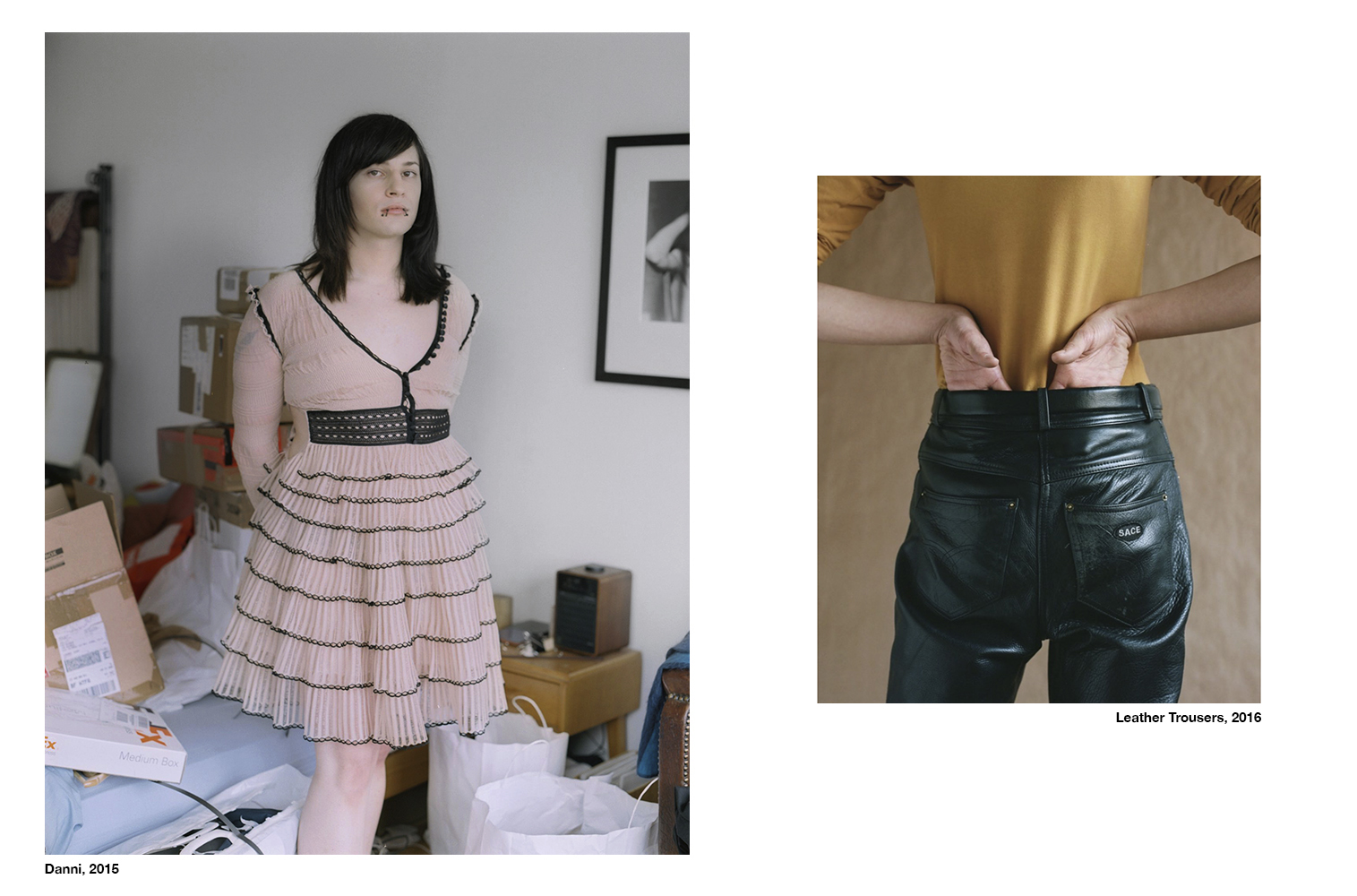 Danni, 2015 – Leather, 2016 Kim Jakobsen To